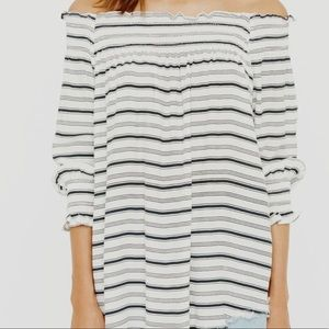 Faithful the Brand off the shoulder top